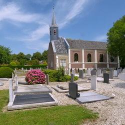 kerk in Maasdam.