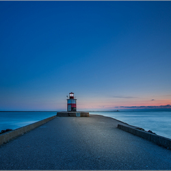 Blue Hour Lighthouse