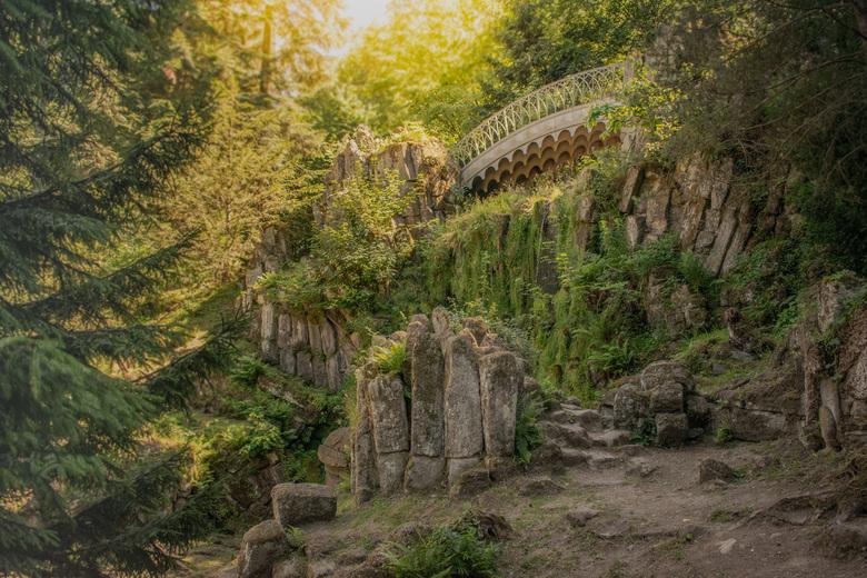 Sprookjesachtige brug -