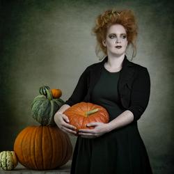 The Pumpkin Lady...