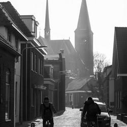 Noordwijk in tegenlicht