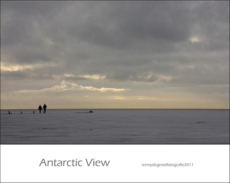 Antarctic View 4 - Vanmorgen weer even een foto bewerkt. De op een na laatste in deze serie...