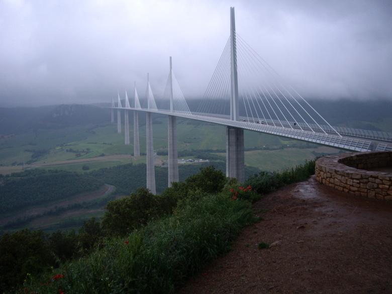C6F96DCA-05E3-4F8B-8485-7D5FB045CEC7 - Viaduct Millau  Frankrijk