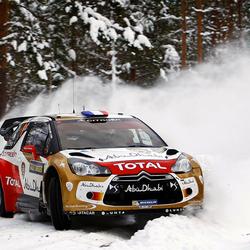 WK Rally Zweden - Sebastien Loeb