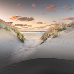 Duindoorkijk bij natuurreservaat Oranjezon in Zeeland