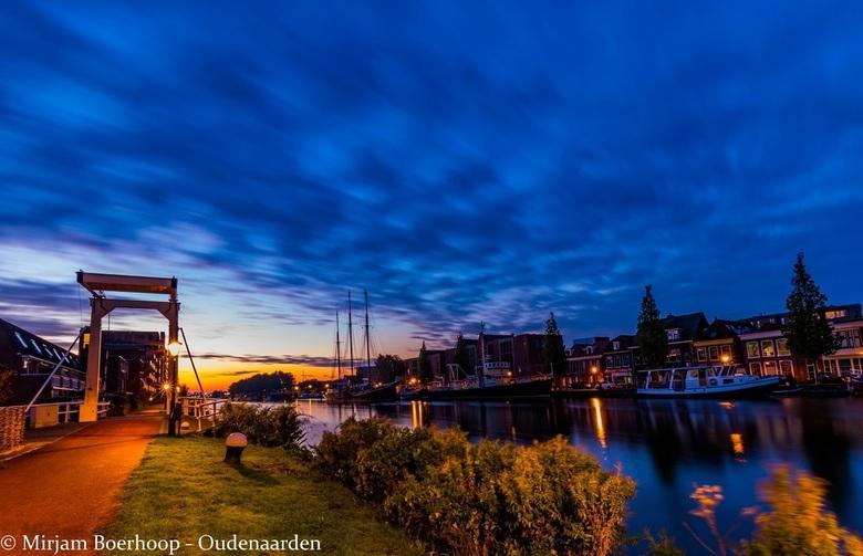 's morgens vroeg in Alkmaar