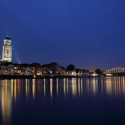 "Deventer ""blue hour"" morning"