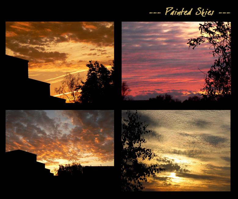 Painted Skies - Nog steeds gek op luchten en hun tekeningen.<br /> <br /> Blijft voor mij toch 1 van de mooiste dingen om te aanschouwen.