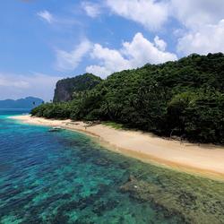 Helicopter Island, Palawan