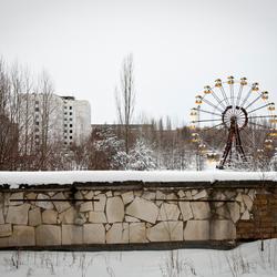 Blik op Pripyat