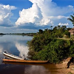 Suriname, Corantijn rivier