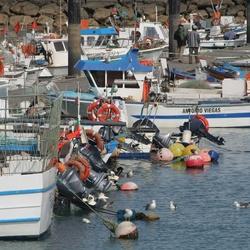 zomaar een haven in Portugal