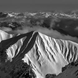 Bekijk deze foto groot ;-) Top Zugspitze Oostenrijkse kant