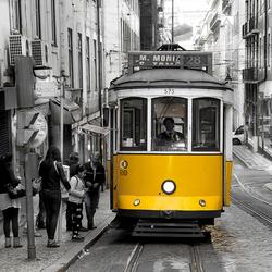 Tram te Lissabon