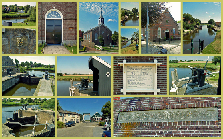 Oudesluis (NH) - Oudesluis is een dorp in de gemeente Zijpe, in de provincie Noord-Holland. Het ligt aan de Grote Sloot.Oudesluis ontstond al vrij kor