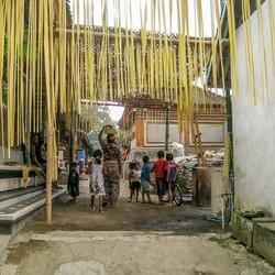 Dorpsleven op Bali
