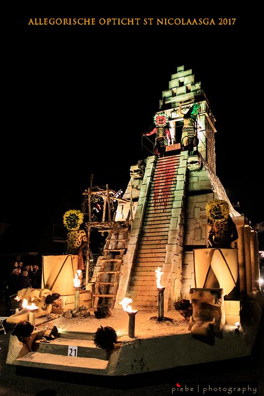 Allegorische optocht St Nicolaasga 2017