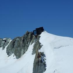 Mont Blanc hut