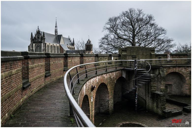 De Burcht in Leiden -