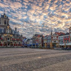 A Dutch Town Under a Vermeer Sky (2)