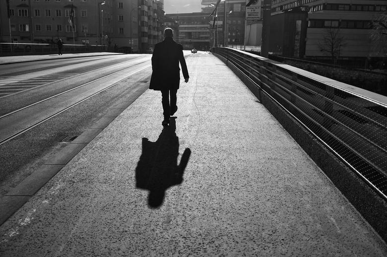 Morning Silhouette - Gemaakt tijdens een mooie ochtend in Innsbruck
