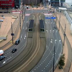 Vanuit Maastoren Rotterdam