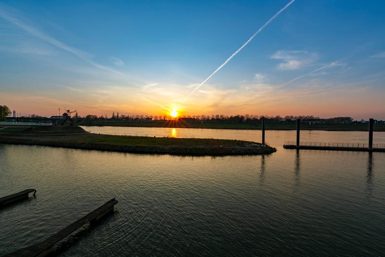 Venlo after hours - Sundown over Venlo
