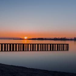 zonsopkomst in uitgeest