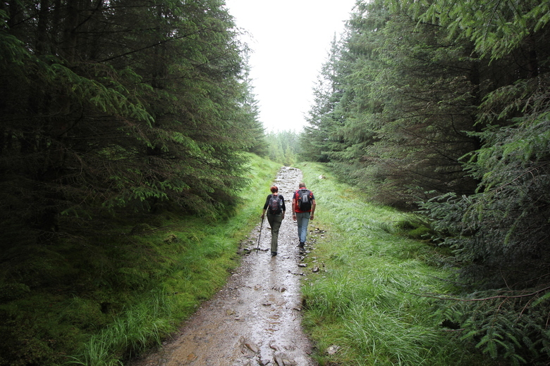Walking the West Highland Way - Op weg naar Inveraron | West Higland Way - Scotland | 27 jul 2016