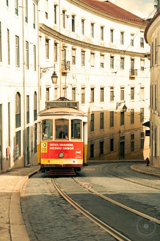 Tram 28 in Lisboa - De beroemde tramlijn 28 in Lisboa