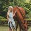 Lieve Axelle en haar pony