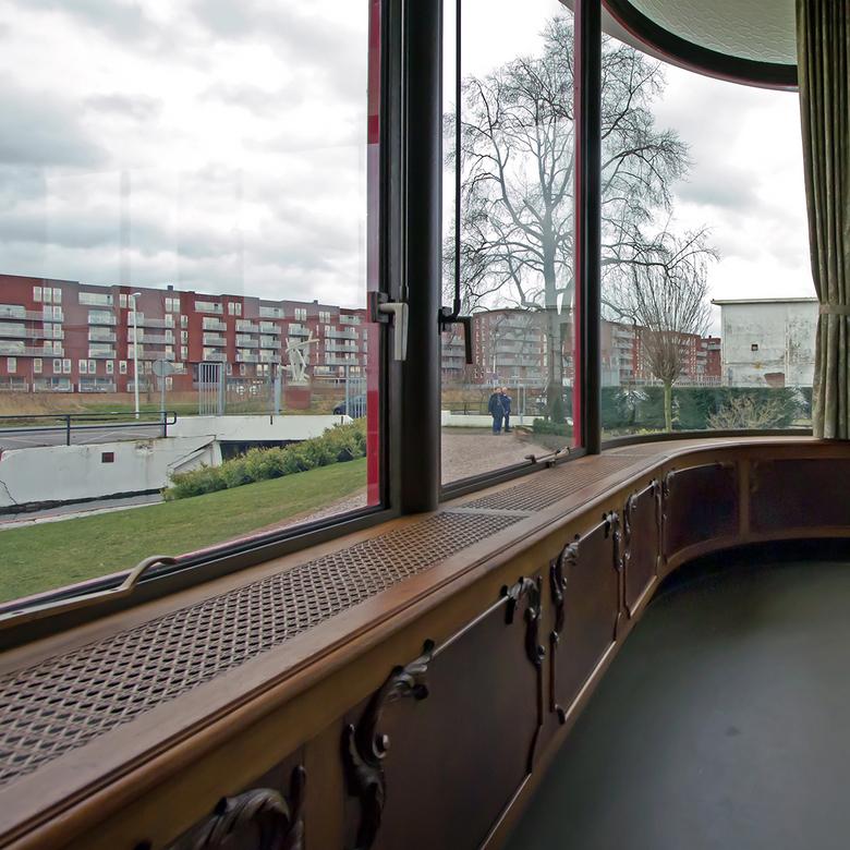 Villa Jongerius 16 - Zicht vanuit de woonkamer.