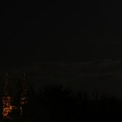 Kerk in de nacht...
