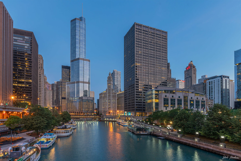 Daybreak Chicago River - Een nieuwe dag breekt aan - Chicago | USA