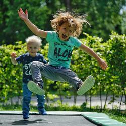 Jump and fun