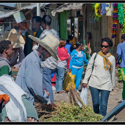 Bewerking: Addis Abeba - markt