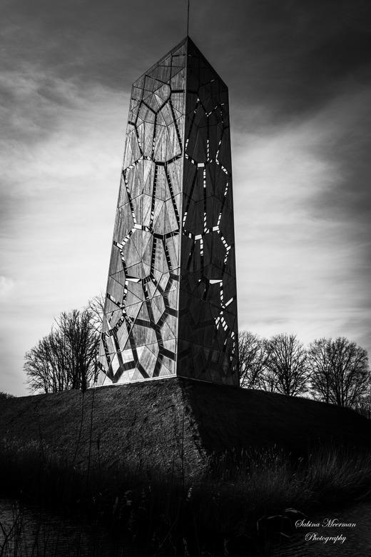 Uitkijktoren Halsteren  - De toren van pompejus in Halsteren