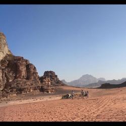 Jordanië Wadi Rum woestijn