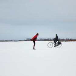 Hier was toch het fietspad????