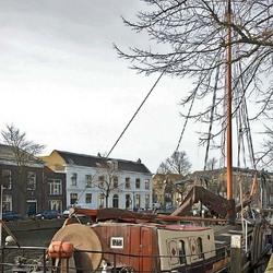 Lange Haven  (bij de Appelmarktbrug) te Schiedam