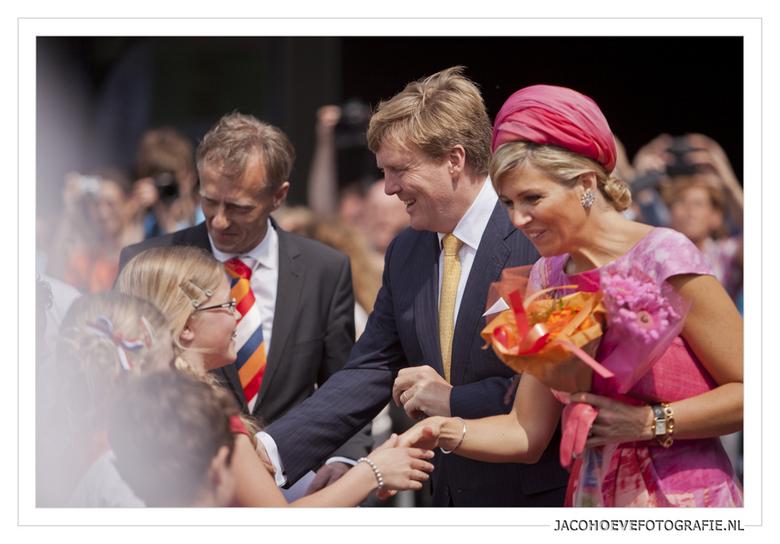 19 juni 2013 - Schoolkinderen van Koning Willem Alexander school uit Staphorst zijn afgelopen woensdagmiddag 19 juni 2013 ook in Zwolle.