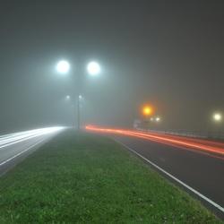 De mist in Westzaan