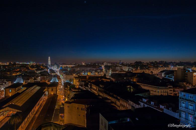 Avond in Porto 72dpi - En een uur later.