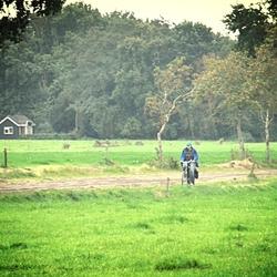 Fietsen door het boerenland