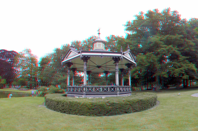 Oranjepark Apeldoorn 3D GoPro - Oranjepark Apeldoorn 3D GoPro<br /> 200mm basis  set 2 hero+<br /> anaglyph stereo red/cyan