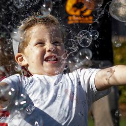 _zeepbellen vangen