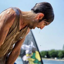 Viking in pain