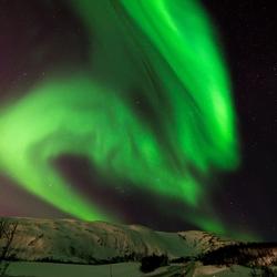 Tromsø green skies