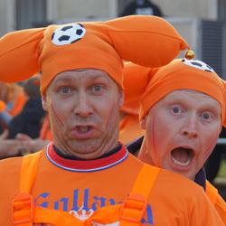 Oranje plopkabouters