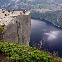 Noorwegen, Preikestolen